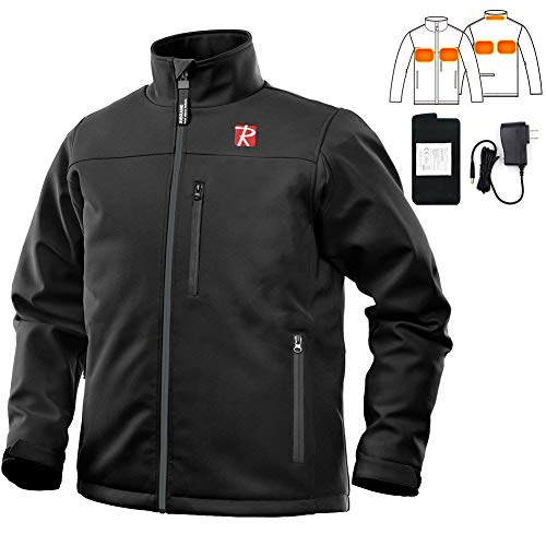 Heated Jacket with 5 Heated Zone and Battery Passed UL Certification
