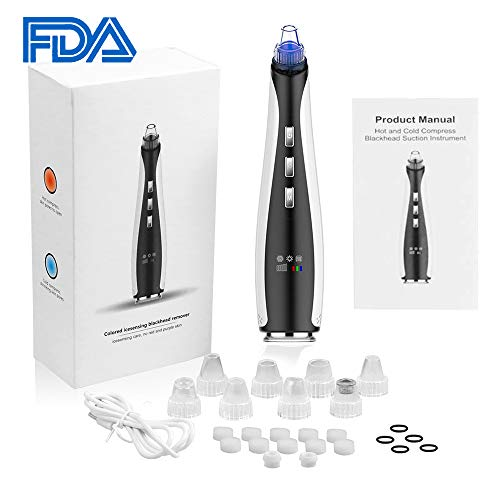 Cold Hot Blackhead Remover Beauty Machine