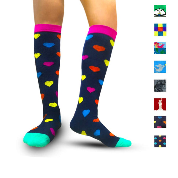 Compression Socks for Women & Men - Best for Running, Athletic Sports