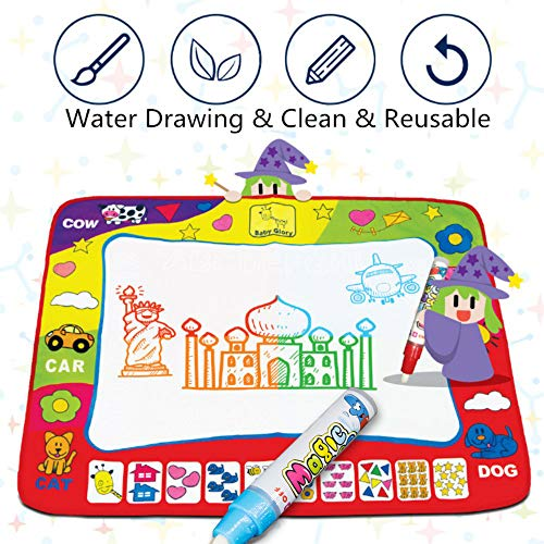 Aqua Magic Mat Kids Toys Large Water Doodle Mat
