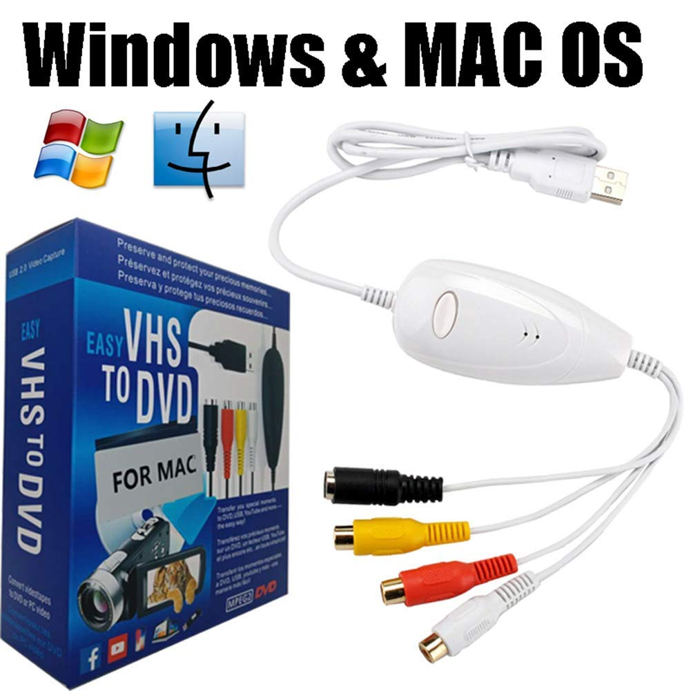 VHS To Digital DVD Converter Support Windows 10/8.1/8/7/Vista/XP