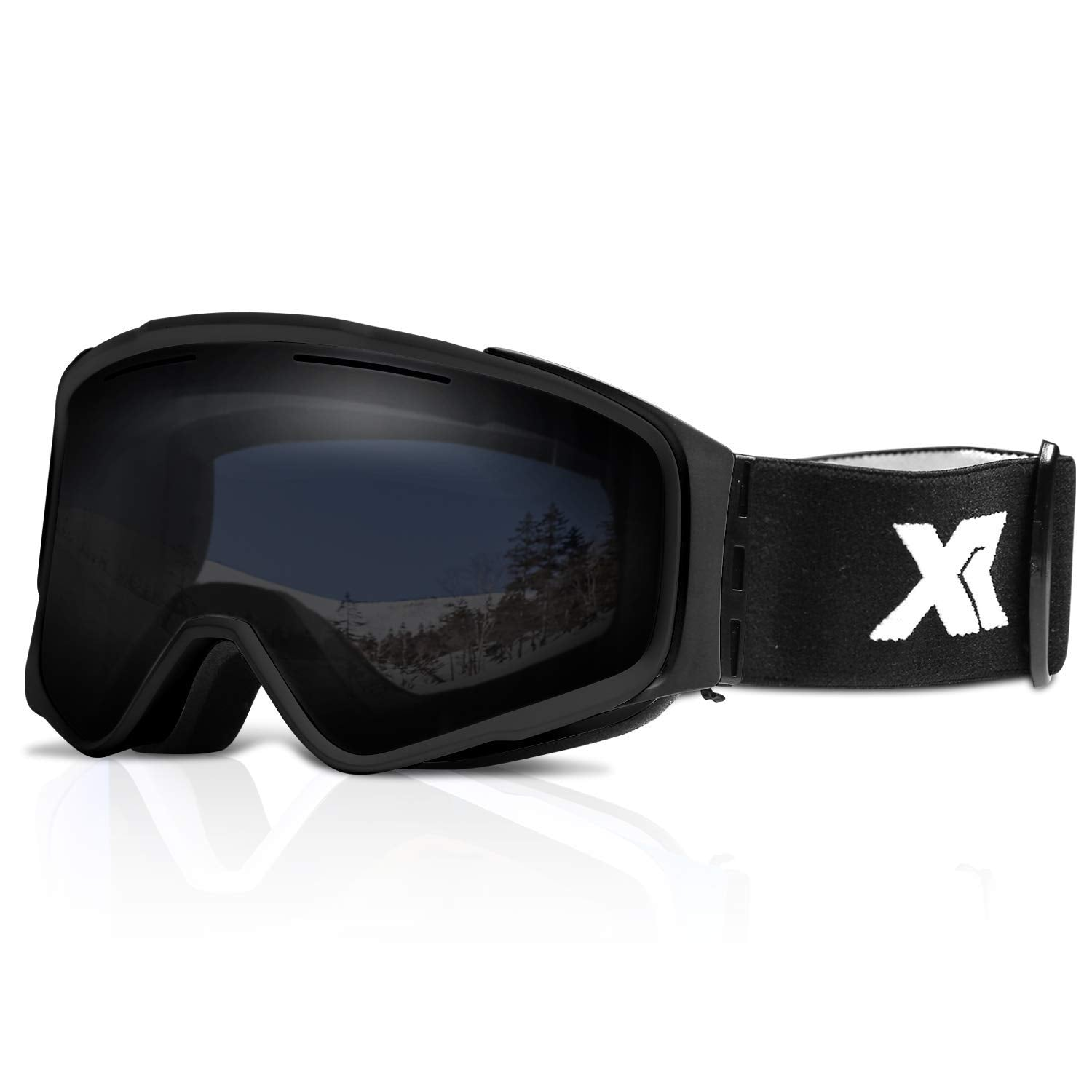 Anti Fog Snow Goggles with Magnetic, Replaceable UV Protection