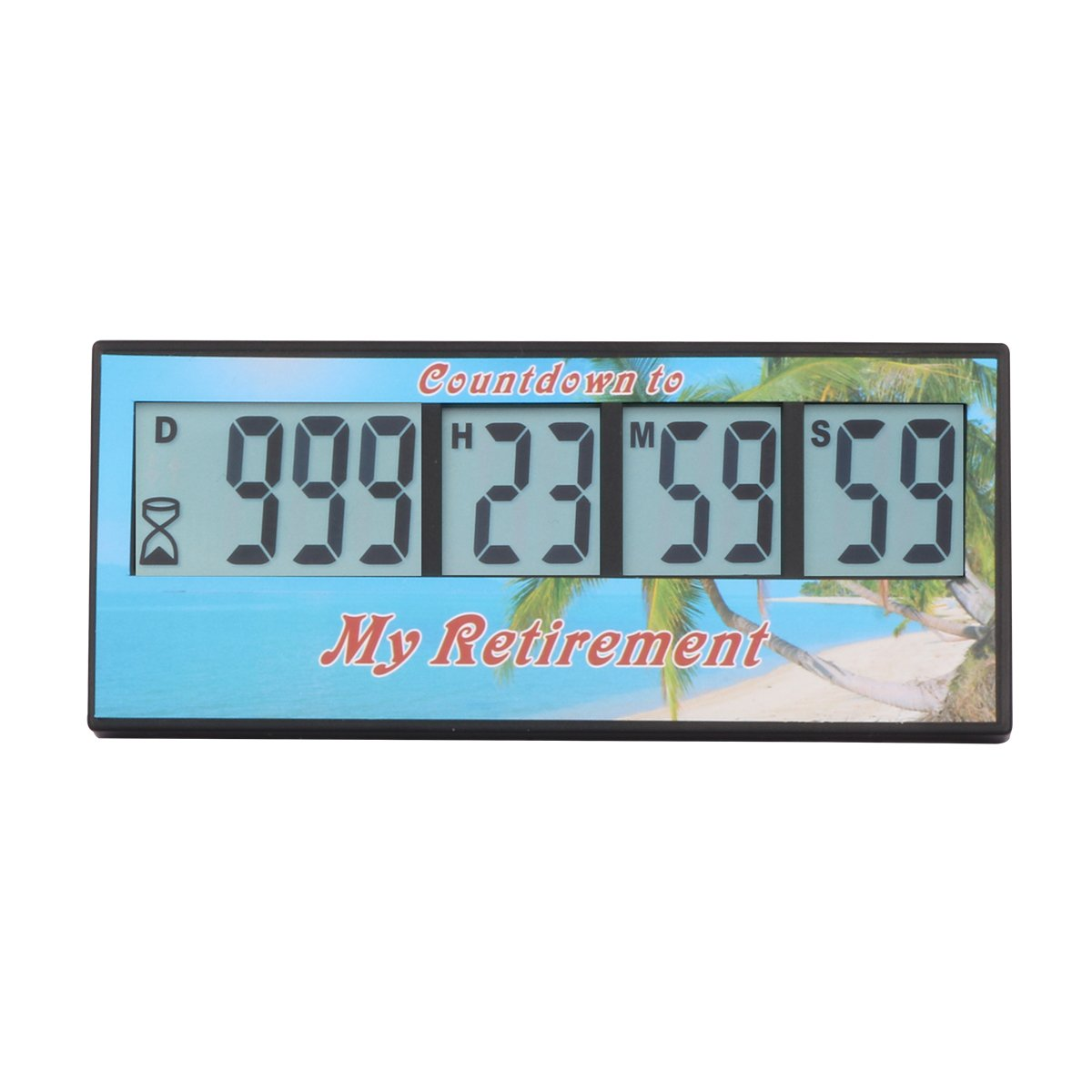 Digital Retirement Countdown Timer - AIMILAR 999 Days Count Down Timer (3-Year Warranty)