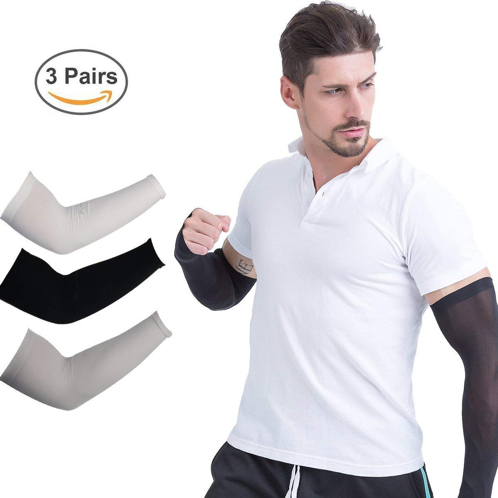 Arm Sleeves UV Protection Cooling Sleeves Outdoor Sports