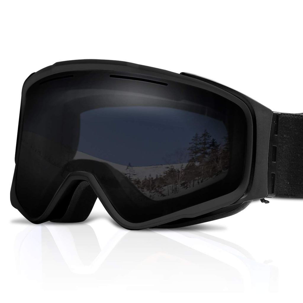 XR MAX 8 PRO Ski Goggles - Anti-Fog,Interchangeable Lens 100% UV Protection Adjustable Headband Snow Goggles for Men & Women