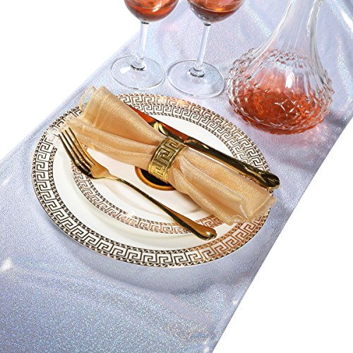 Laser Point Table Runner For Wedding Decorations