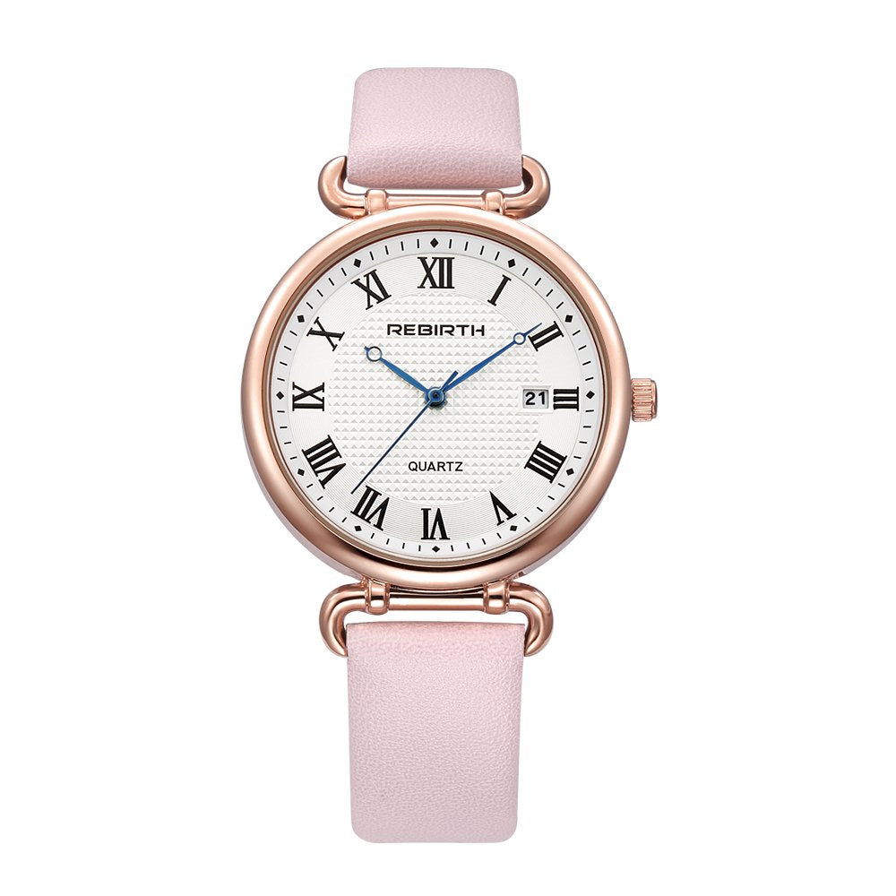Womens Watches with Rose Gold Dressy Elegant Design Analog Wrist Watch for Ladies/Girls Fashion Designer