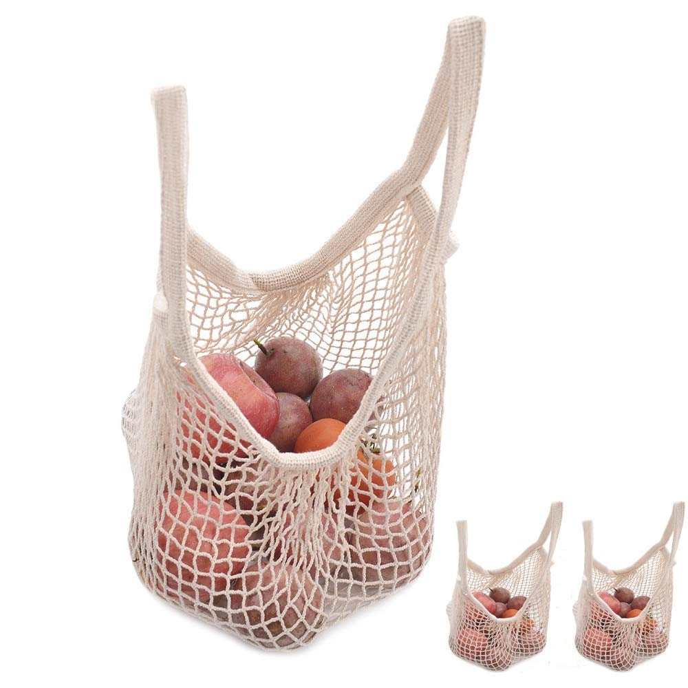 Net String Shopping Bag Portable/Washable/Reusable