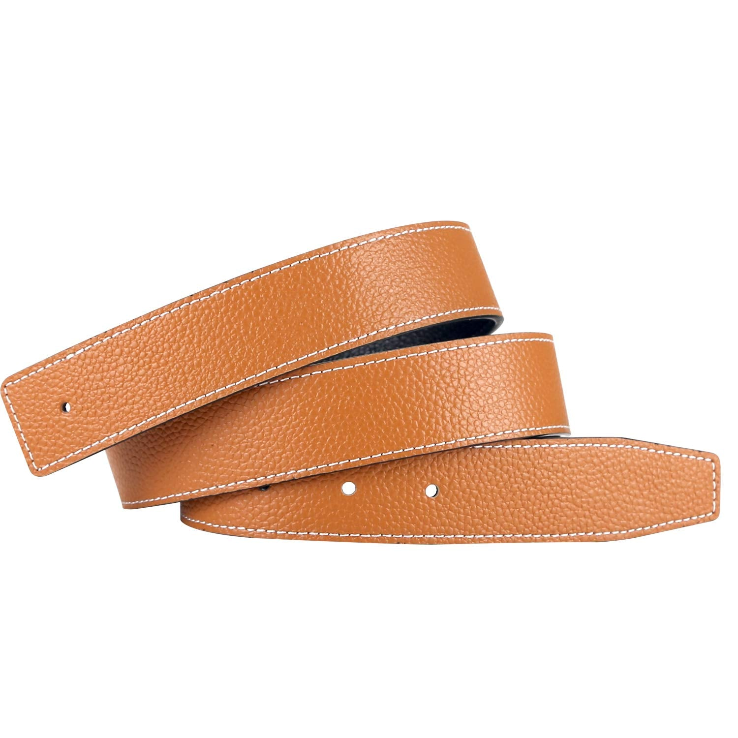 Replacement Leather Belt Strap Reversible Replacement Belt Strap Genuine Leather 1 1/4