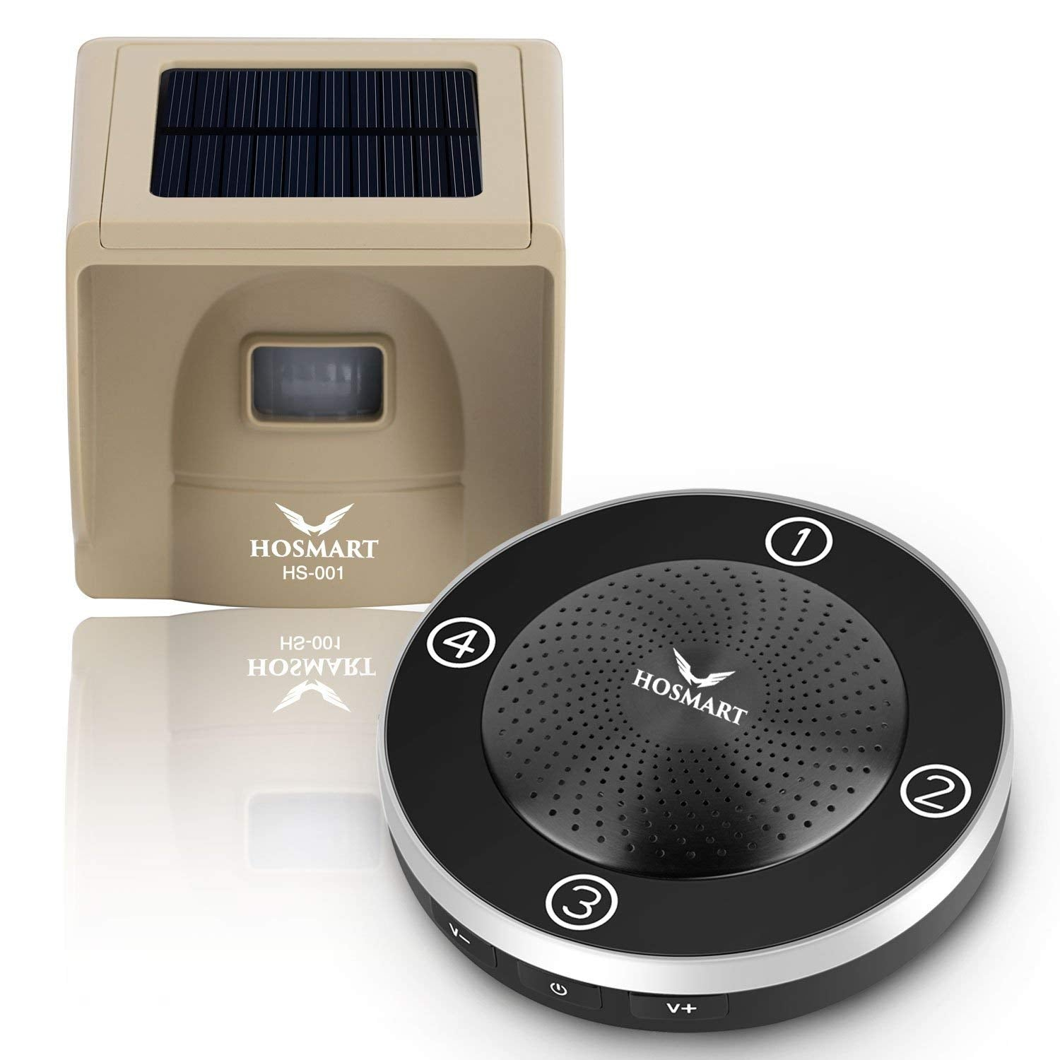 1/4 Mile Rechargable Solar Wireless Camera Wireless Sensor System
