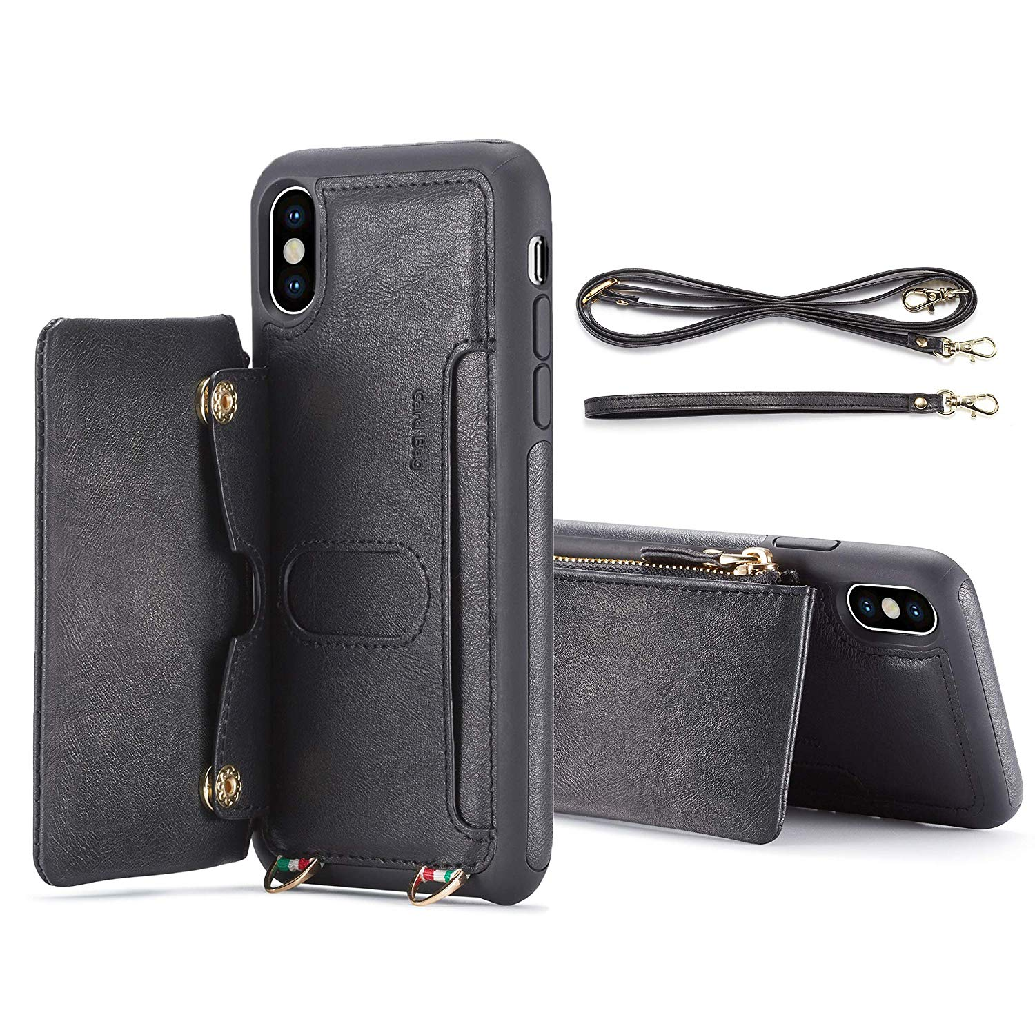 Detachable Wallet Leather Case for iPhone XS Max Case