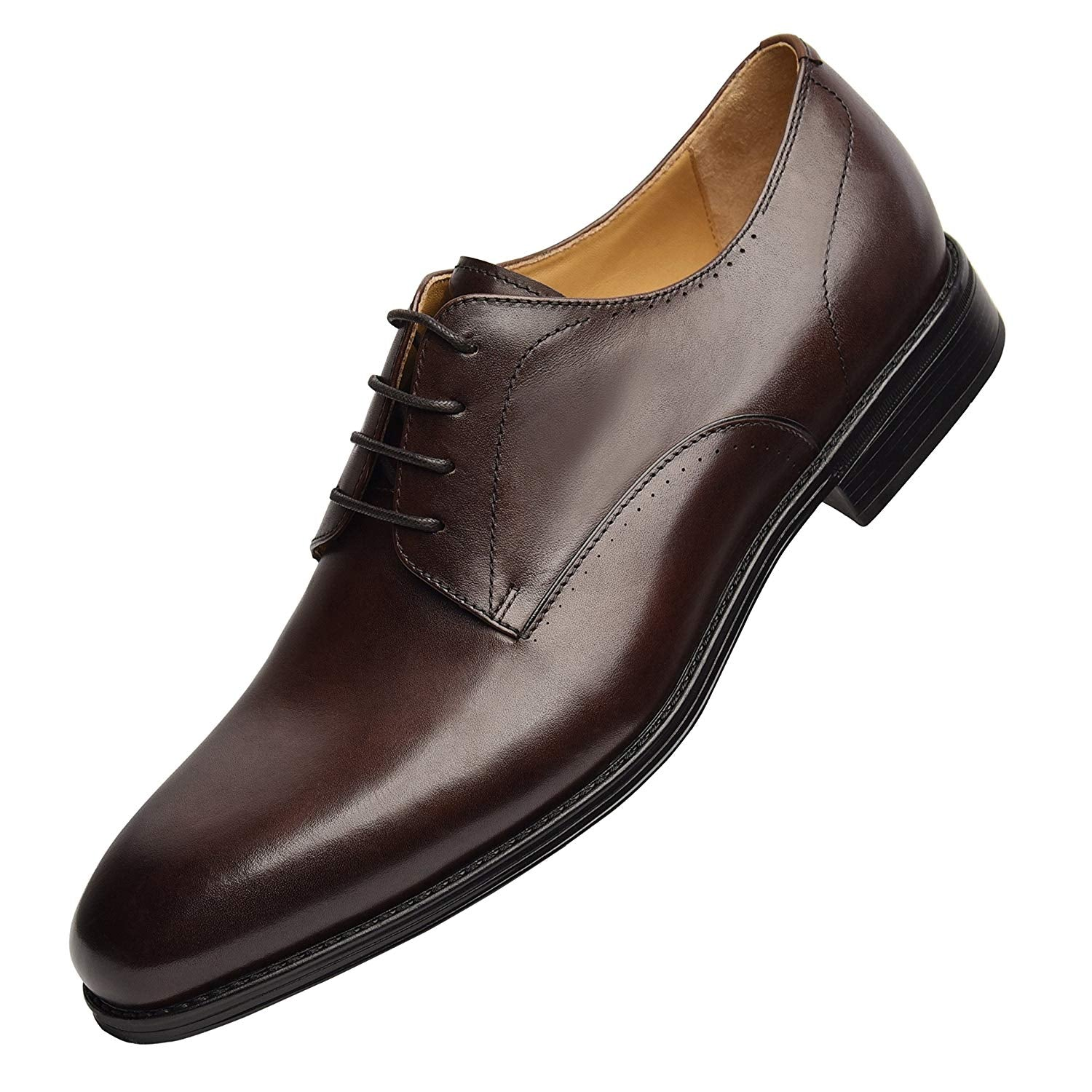 Men's Comfort Dress Shoes - Classic Genuine Leather Dress Shoes Oxford