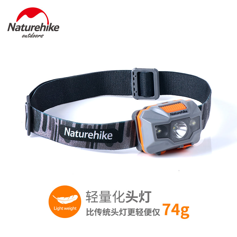 LED headlamp glare night fishing fishing lights 			 							        							Light is only about 70g USB direct charge of strong radiation from life