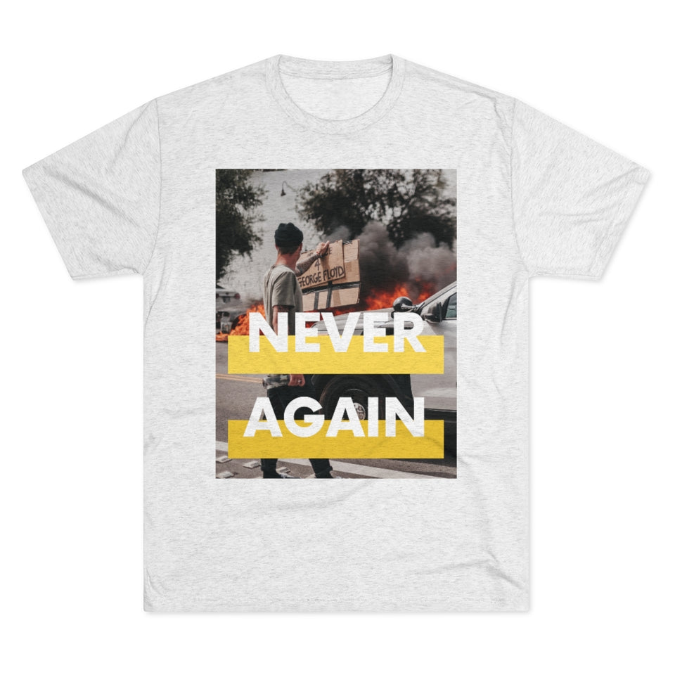 """UNISEX TEE / COLLAB JXMXL - NEVER AGAIN PT.3"""