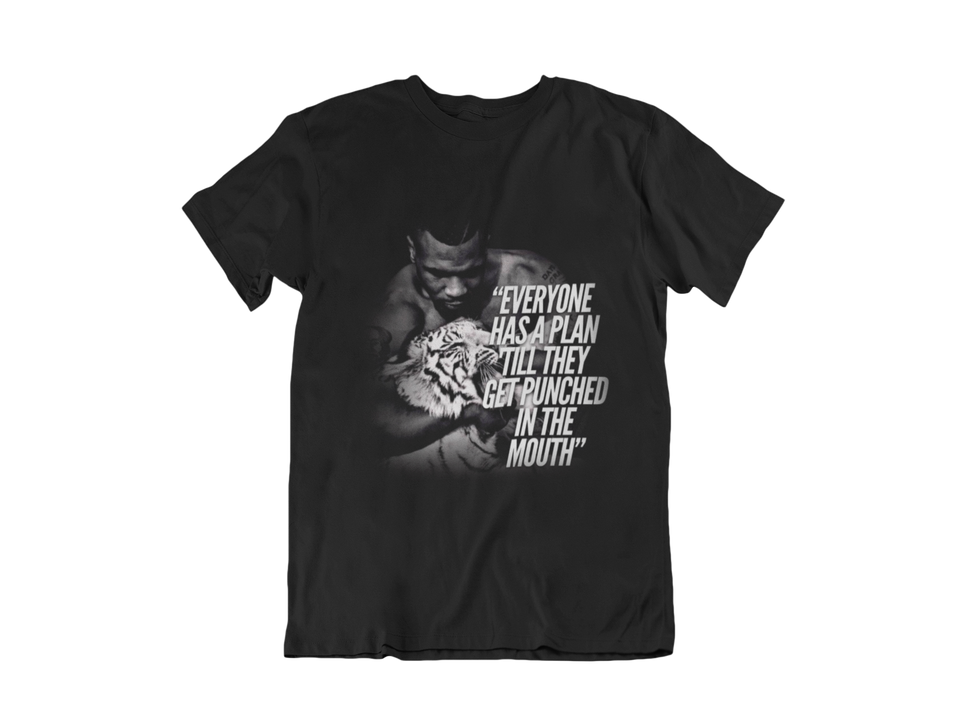 "UNISEX TEE / ""MIKE TYSON QUOTES PT.1"""