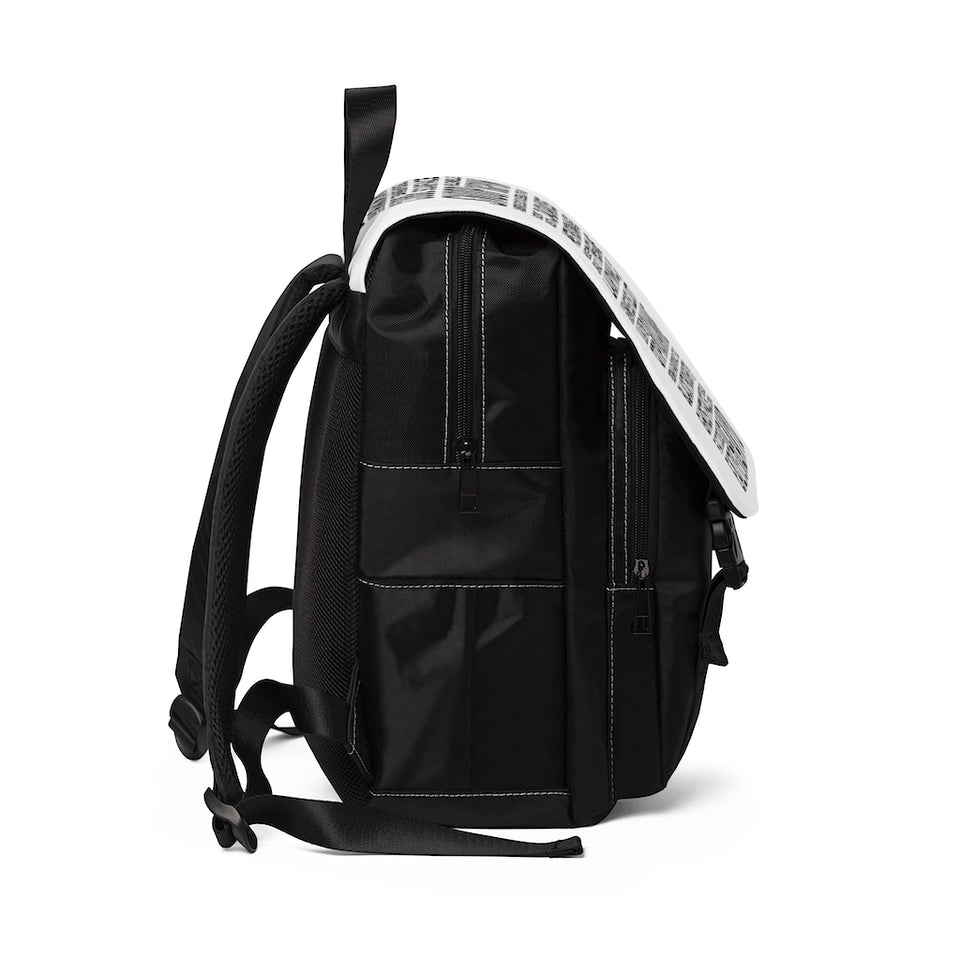 """CASUAL UNISEX BACKPACK / TO 50 HIP HOP ICONS"""