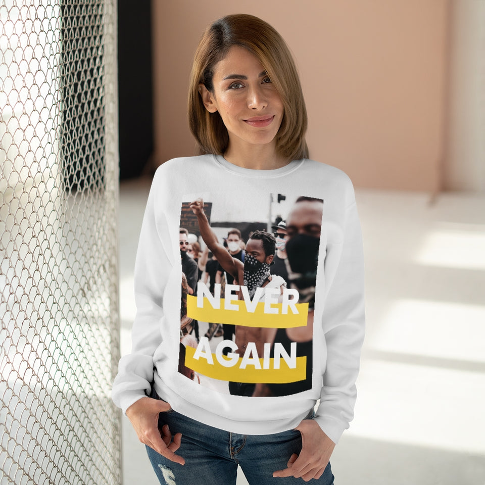 """CREWNECK SWEATSHIRT / COLLAB JXMXL - NEVER AGAIN PT.2"""