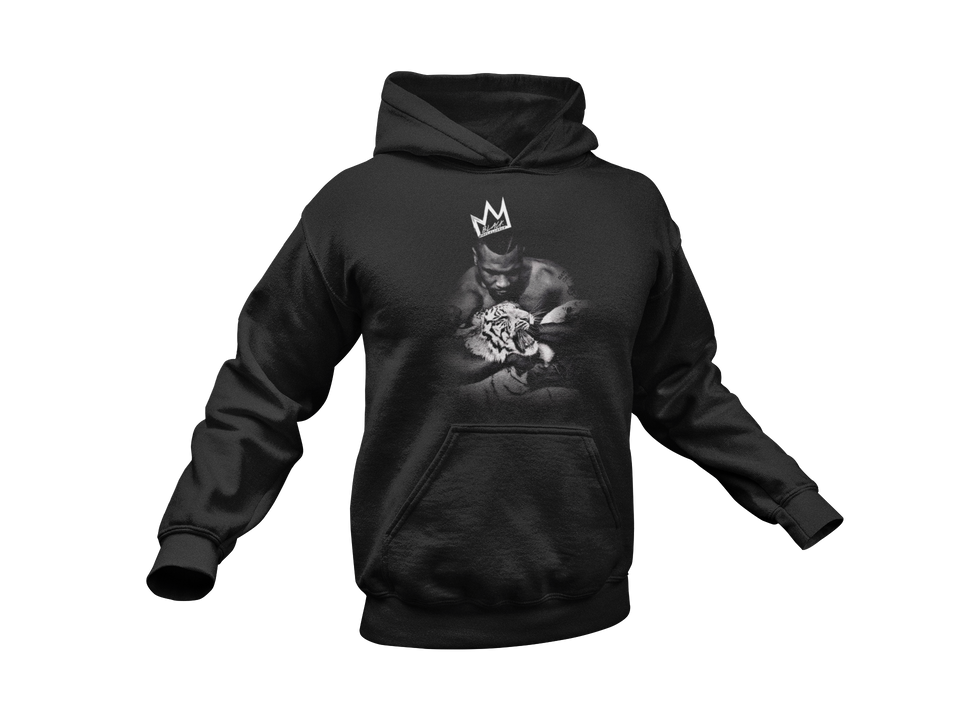 "HOODIE / ""MIKE TYSON TIGER CROWN"""