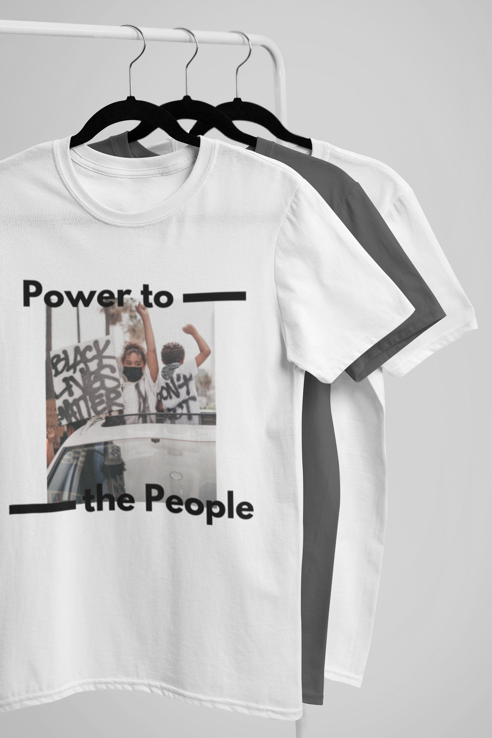 """UNISEX TEE / COLLAB JXMXL - POWER TO THE PEOPLE VOL.2"""
