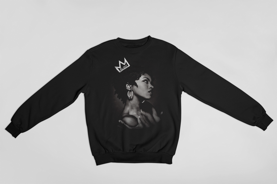 """CREWNECK SWEATER / LAURYN HILL CRWN PT.1"""