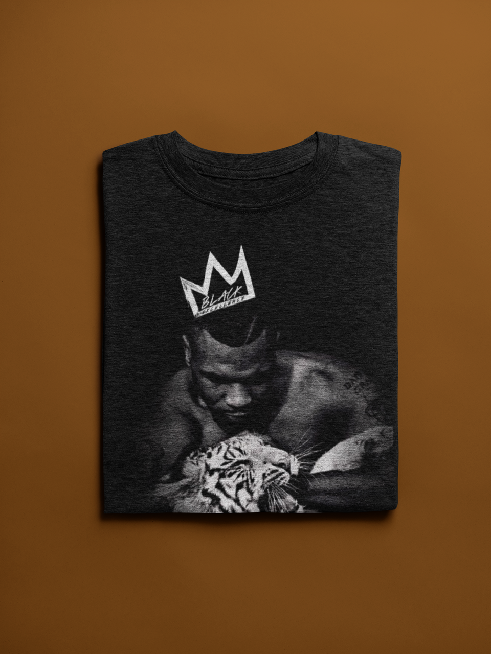 "UNISEX TEE / ""MIKE TYSON TIGER CROWN"""