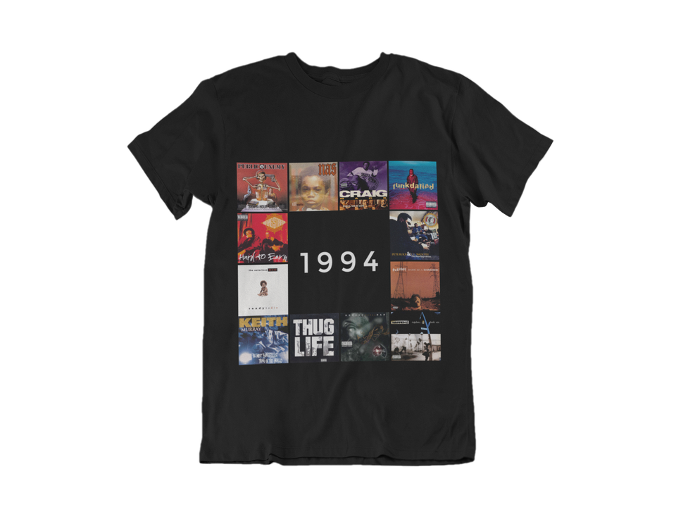 "Men Tee / ""1994 HIP HOP Edition"""