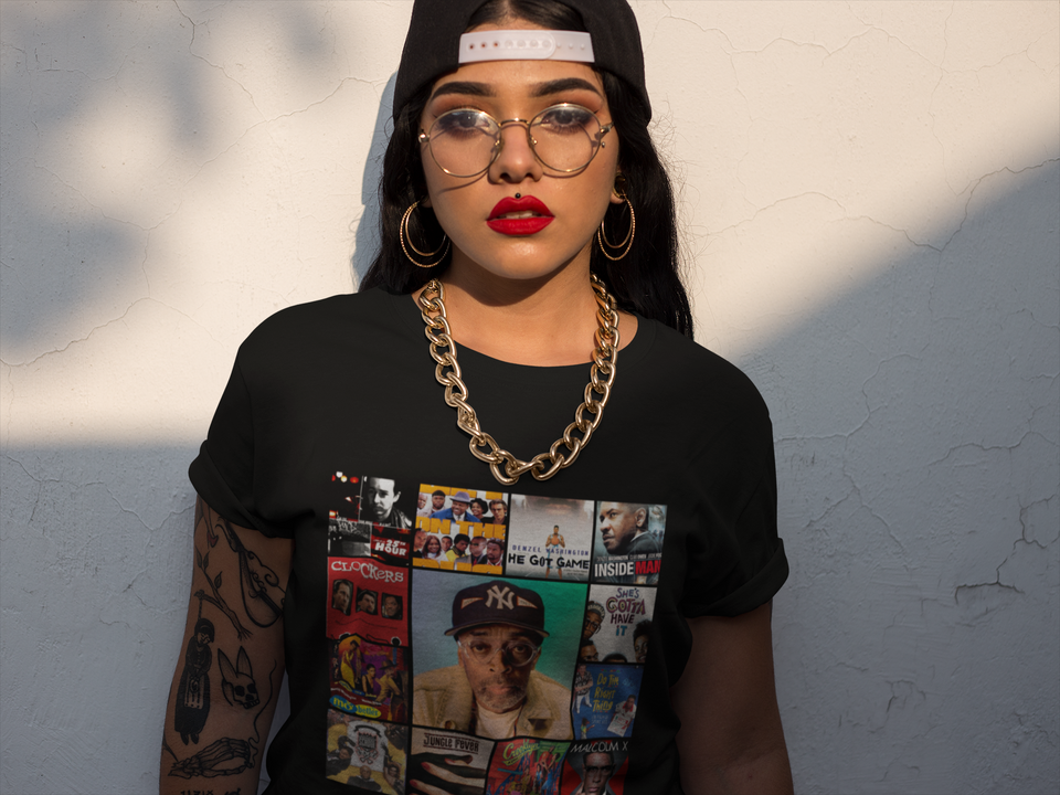 "UNISEX TEE / ""SPIKE LEE COLLAGE"""
