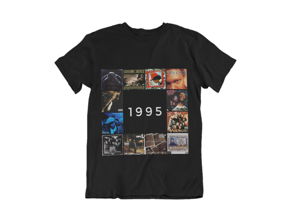 "UNISEX TEE / ""1995 HIP HOP EDITION"""