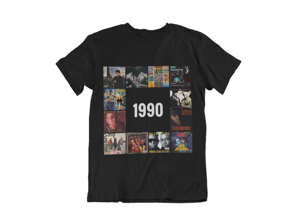 "UNISEX TEE / ""1990 HIP HOP EDITION"""