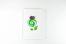 Ladybug Lollipop Sweets Nursery Art Print