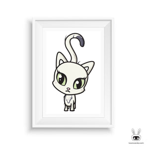 Cat Nursery Art Print