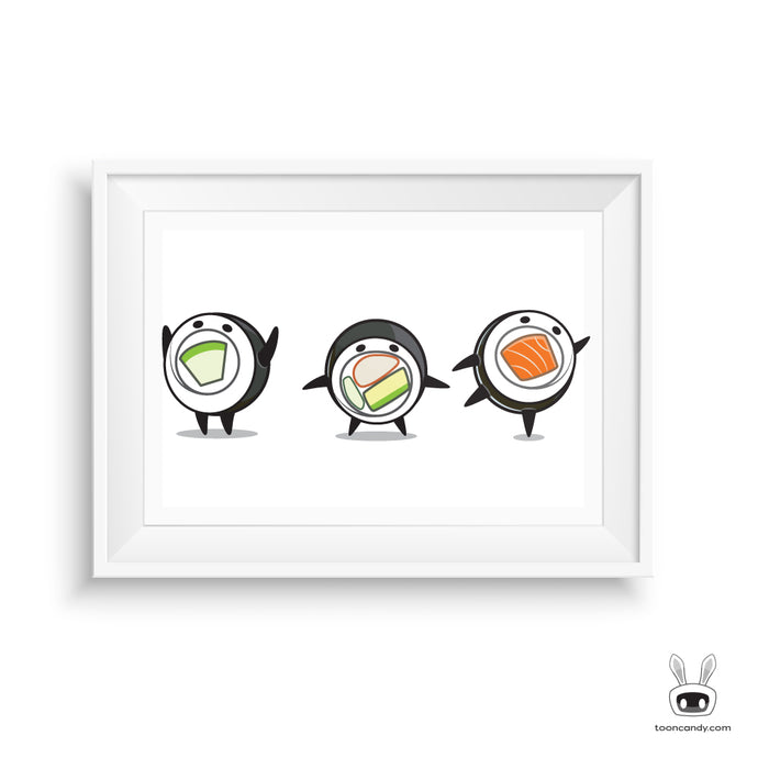 Maki-Sushi-Roll-Art-Print-Kawaii