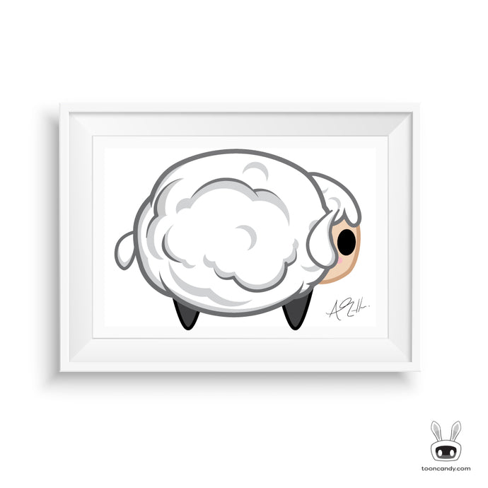 Sheep Nursery Print