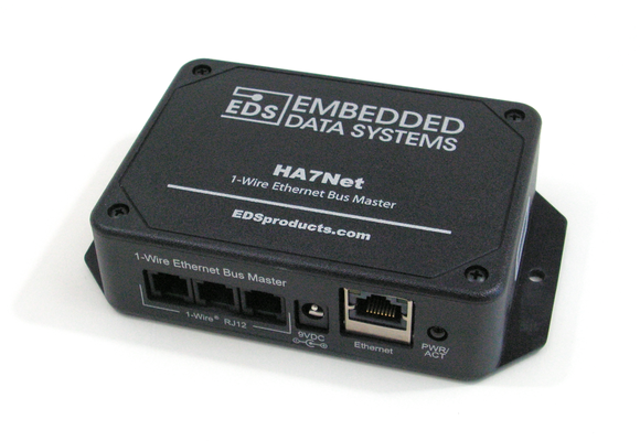 HA7net - Ethernet 1-wire Host Adapter (panel)