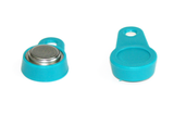 Magnetic TAH keyfob with DS1990A-turquoise
