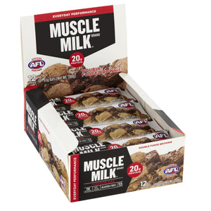 MUSCLE MILK® 20g Protein Bar Double Fudge Brownie
