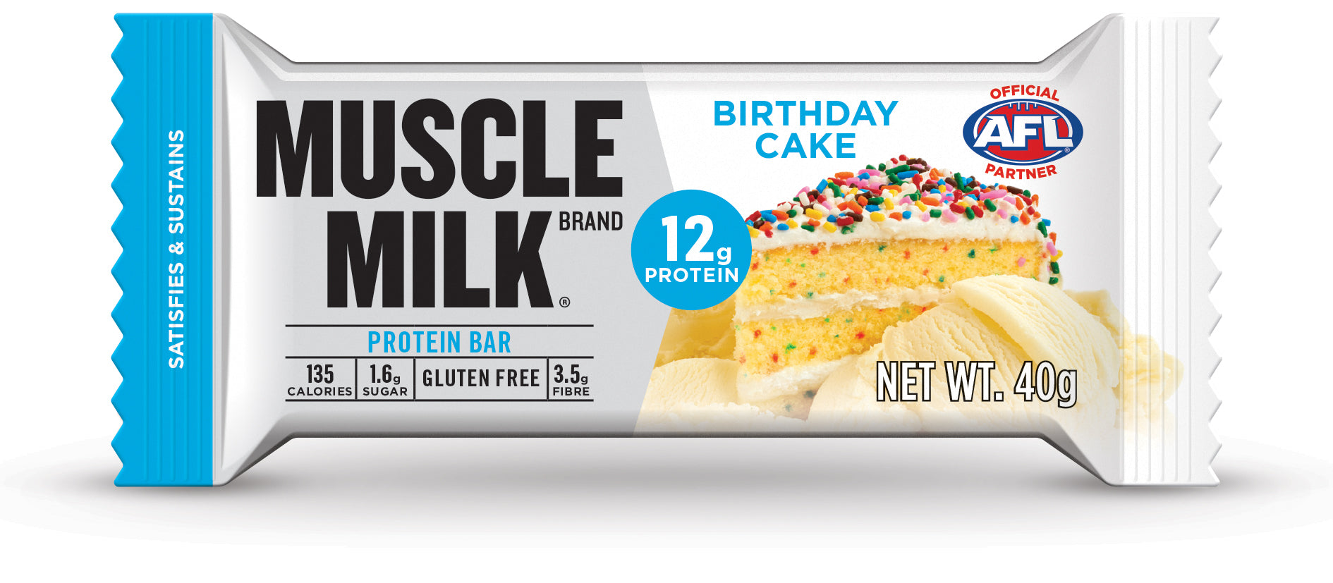 MUSCLE MILKR 12g Protein Bar Birthday Cake