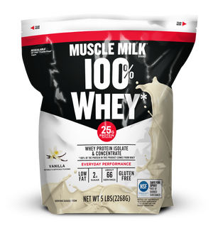MUSCLE MILK® 100% Whey Vanilla