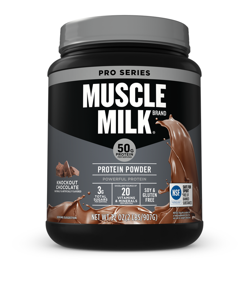 MUSCLE MILKR PRO SERIES Protein Powder Chocolate