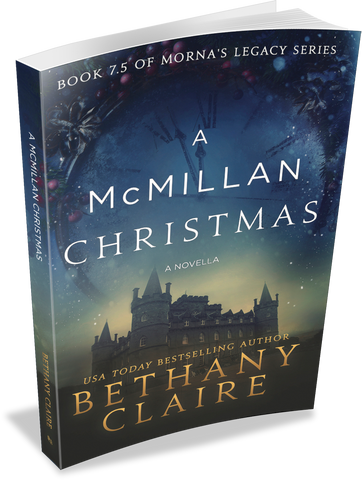 A McMillan Christmas - A Novella (Book 7.5 of Morna's Legacy Series) - Signed Paperback