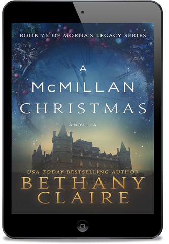 A McMillan Christmas - A Novella (Book 7.5 of Morna's Legacy Series) - eBook