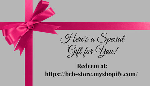 Bethany Claire Online Store Gift Card