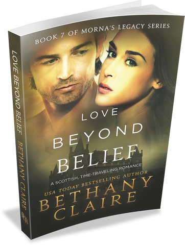 Love Beyond Belief (Book 7 of Morna's Legacy Series) - Signed Paperback