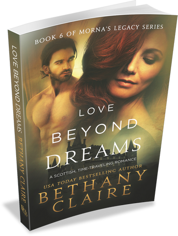 Love Beyond Dreams (Book 6 of Morna's Legacy Series) - Signed Paperback
