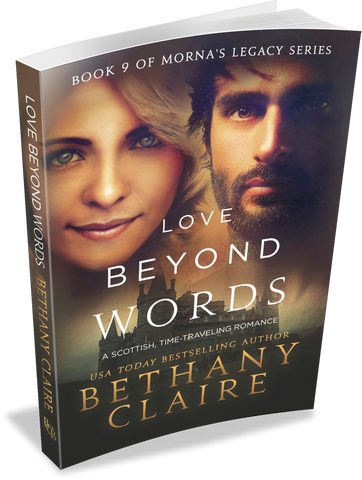 Love Beyond Words (Book 9 of Morna's Legacy Series) - Signed Paperback