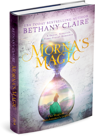 Morna's Magic (Book 4 of The Magical Matchmaker's Legacy) - Signed Hardback