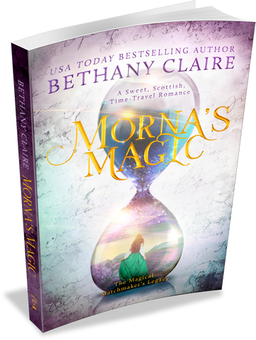 Morna's Magic (Book 4 of The Magical Matchmaker's Legacy) - Signed Paperback