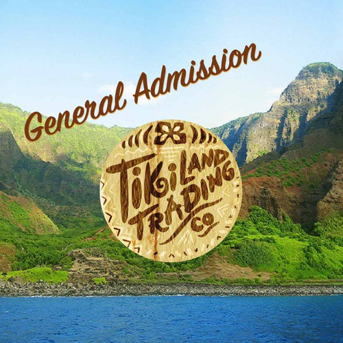 General Admission Ticket - TikiLand Trading Co. - September 29, 2019 - Heritage Museum of Orange County