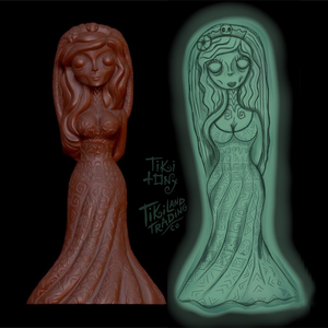 'Hula Haunts' Tiki Mug + Bowl Set Pre-Sale by Tiki tOny + Jeff Granito - Ships early2021* (US shipping included)