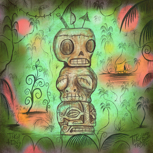 Tiki tOny's 'Head Stack' Tiki Mug Pre-Sale - Ships Early2021* (US shipping included)